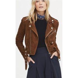 a9f0a6e75 Polo by Ralph Lauren Jackets   Coats - Polo Ralph Lauren tweed brown suede moto  jacket
